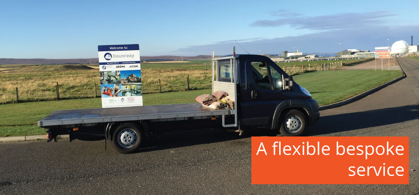 A flexible and bespoke service